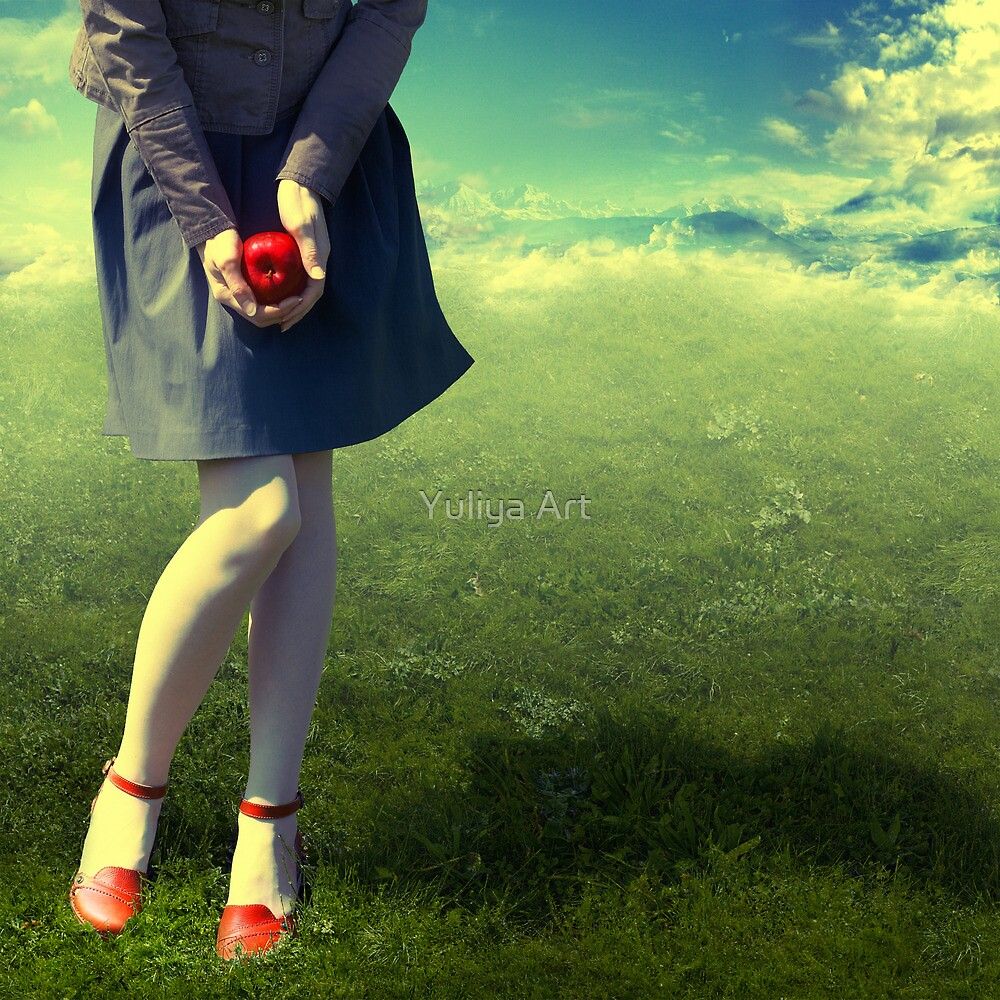 Apple Story by Yuliya Art