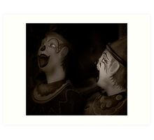 Did I tell you the one about....? Art Print