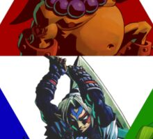 Majora's Mask Link Forms Sticker