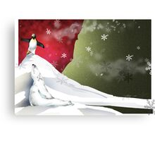 Balance is the key to Survival Canvas Print