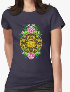 Lotus Medallion with Peonies T-Shirt