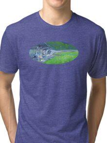 Blue marlin fish Tri-blend T-Shirt