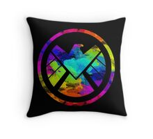 Splatter S.H.I.E.L.D.  Throw Pillow