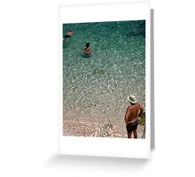 In Ionian Waters Greeting Card