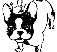 French bulldog by Pendientera