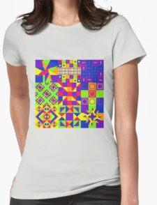Tutti Frutti - Quasi-Quilt T-Shirt