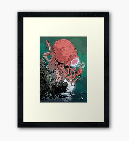 Cthulu Framed Print