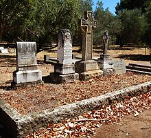 Autumn In The Graveyard by Eve Parry