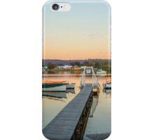 Davistown boats at sunset iPhone Case/Skin