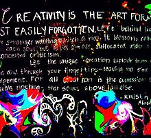 Creativity is... by klapthor