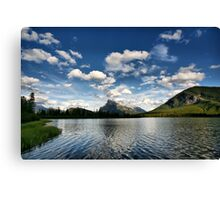 Vermillion Lakes, Banff National Park Canvas Print
