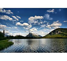 Vermillion Lakes, Banff National Park Photographic Print