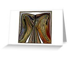 ANGEL WINGS OF  WARMTH LOVE AND PEACE Greeting Card
