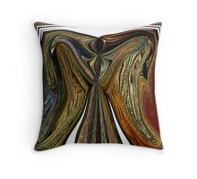 ANGEL WINGS OF  WARMTH LOVE AND PEACE Throw Pillow