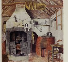 Kate Greenaway Collection 1905 0045 In the Chappel Cottage at Rollesten, the Kitchen by wetdryvac