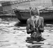 Release my Soul - Varanasi by lgraham