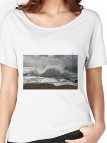 Kiama Ocean Swimming Pool #3 Women's Relaxed Fit T-Shirt
