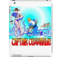 Captain Commando Versus Chun Li! iPad Case/Skin