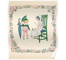 Mrs Leicester's School Charles & Mary Lamb with Minifred Green 18xx 0071 A Young Gentlemen of Five Years Poster