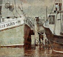 Provincetown Harbor... by Karen  Helgesen