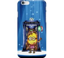 11th Doctor Cartoons Parody iPhone Case/Skin