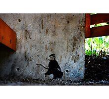 Tofino Graffiti, 2015 Photographic Print