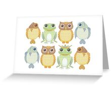 King Frog & Friends 7 Greeting Card
