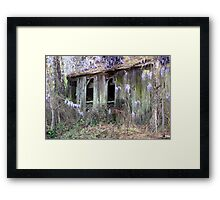 Buried In Blossoms Framed Print