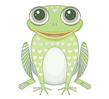 Big Optimistic Frog by Jean Gregory  Evans