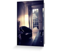 Living in rooms Greeting Card