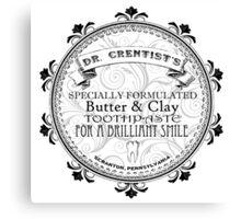 Dr. Crentist Canvas Print