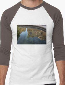 Noto's Sicilian Baroque Architecture Reflected Men's Baseball ¾ T-Shirt