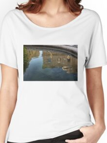 Noto's Sicilian Baroque Architecture Reflected Women's Relaxed Fit T-Shirt