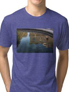 Noto's Sicilian Baroque Architecture Reflected Tri-blend T-Shirt