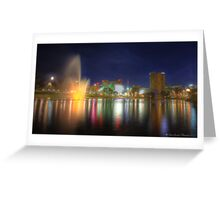 Adelaide Cityscape Greeting Card