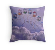 Carnival in the Clouds !! Throw Pillow