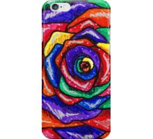 Rainbows and Roses Bold iPhone Case/Skin