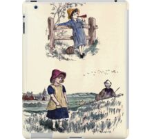 The Little Folks Painting book by George Weatherly and Kate Greenaway 0155 iPad Case/Skin