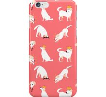 White labrador iPhone Case/Skin