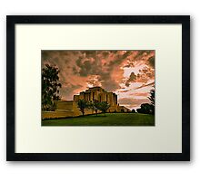Cardston Alberta Temple Framed Print