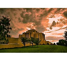 Cardston Alberta Temple Photographic Print