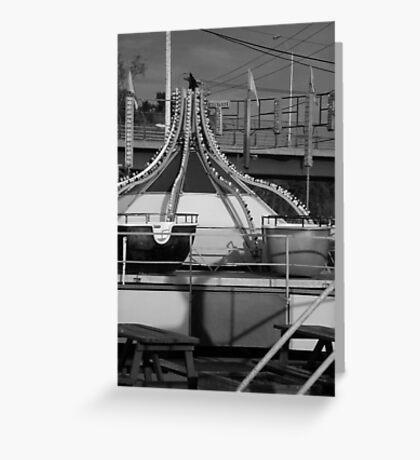 Tip Top - Black & White Greeting Card