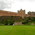 Bamburgh Castle by Di Mellors