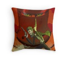 Ned's Dead Throw Pillow
