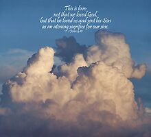 ~ 1 John 4:10 ~ by Donna Keevers Driver