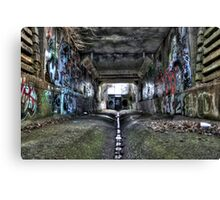 Graffiti Underground Canvas Print