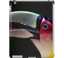 Red Breasted Toucan Portrait at Iguassu, Brazil iPad Case/Skin