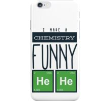 Whimsical Chemistry Geek Design iPhone Case/Skin