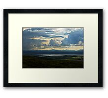 Looking to Inch Island, County Donegal Framed Print