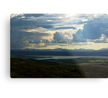 Looking to Inch Island, County Donegal Metal Print